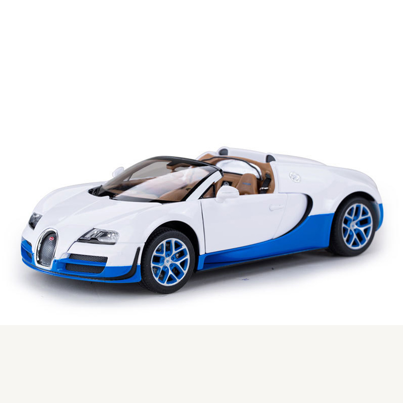 Rastar 1:18 Bugatti Alloy Simulation Car Models Toys For Boys